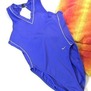 Sporty Nike Swimsuit Athletic Cut